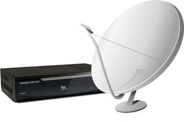 Anteny i dekodery SAT DVB-T